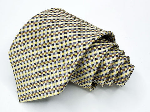 Alexander Julian Tie Multi Color  Geometric Pattern