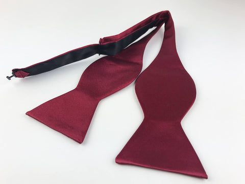 Knot Around Your Neck Dark Red Bow Tie Knot Around Your Neck Bow Ties