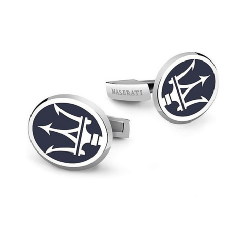 Cufflinks Maserati Stainless Logo Funky Lizard Knot Around Your Neck Cuff Links