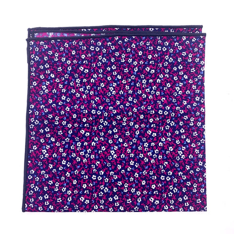 Jos. A. Bank Pocket Square Floral Pattern