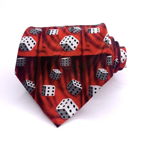 Fratello Tie Roll The Dice Novelty New