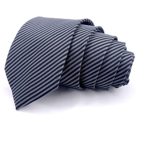 Black Grey Striped Tie Black grey Striped Pattern