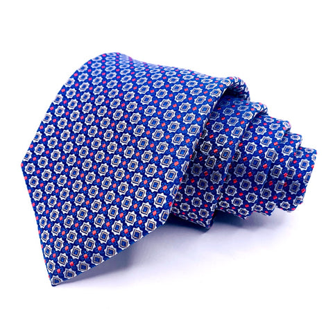 Jos. A. Bank Tie Traveler Collection Geometric Pattern