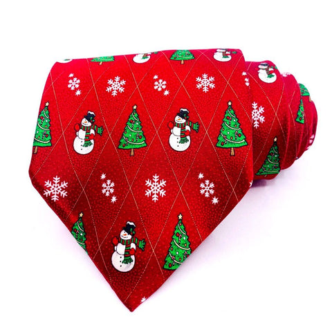 Holiday Traditions Hallmark Tie Christmas Pattern