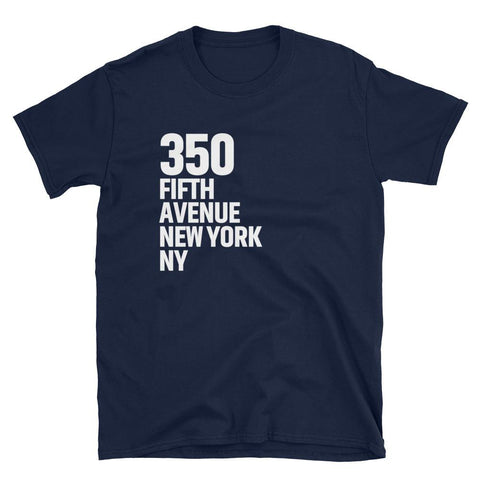 Famous Addresses Unisex T-Shirt - 350 Fifth Avenue