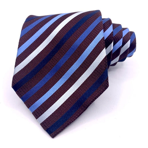 Alfani Tie Striped Pattern Ties Alfani