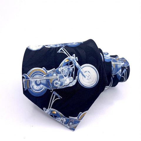 Fratello Tie Motorcycles Novelty New
