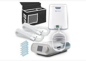 DreamClean Performance Package - Dreamstation Auto CPAP  w/ carrying case, Mask, SoClean 2, 2 add'l tubes, 6 extra filters