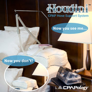 The Houdini CPAP Hose Support System
