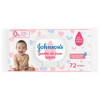 Johnson's Baby Gentle All Over Wipes - 72 Wipes