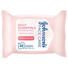 Johnson's Daily Essentials Facial Refreshing Wipes - 25 Pcs