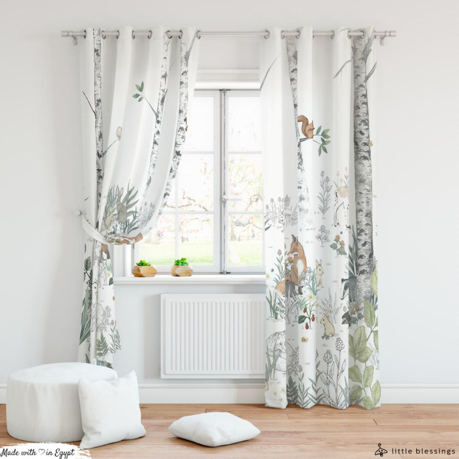 Magic Forest Curtain