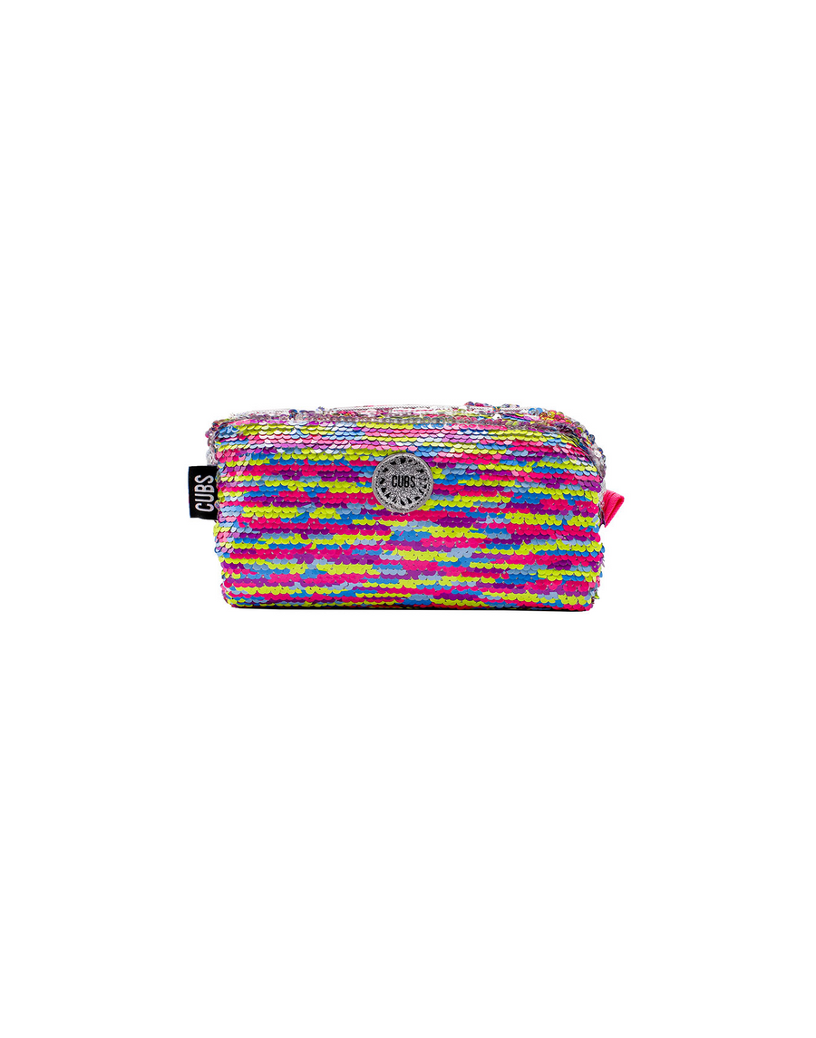 Kaleidoscope Sequin Pencil Case