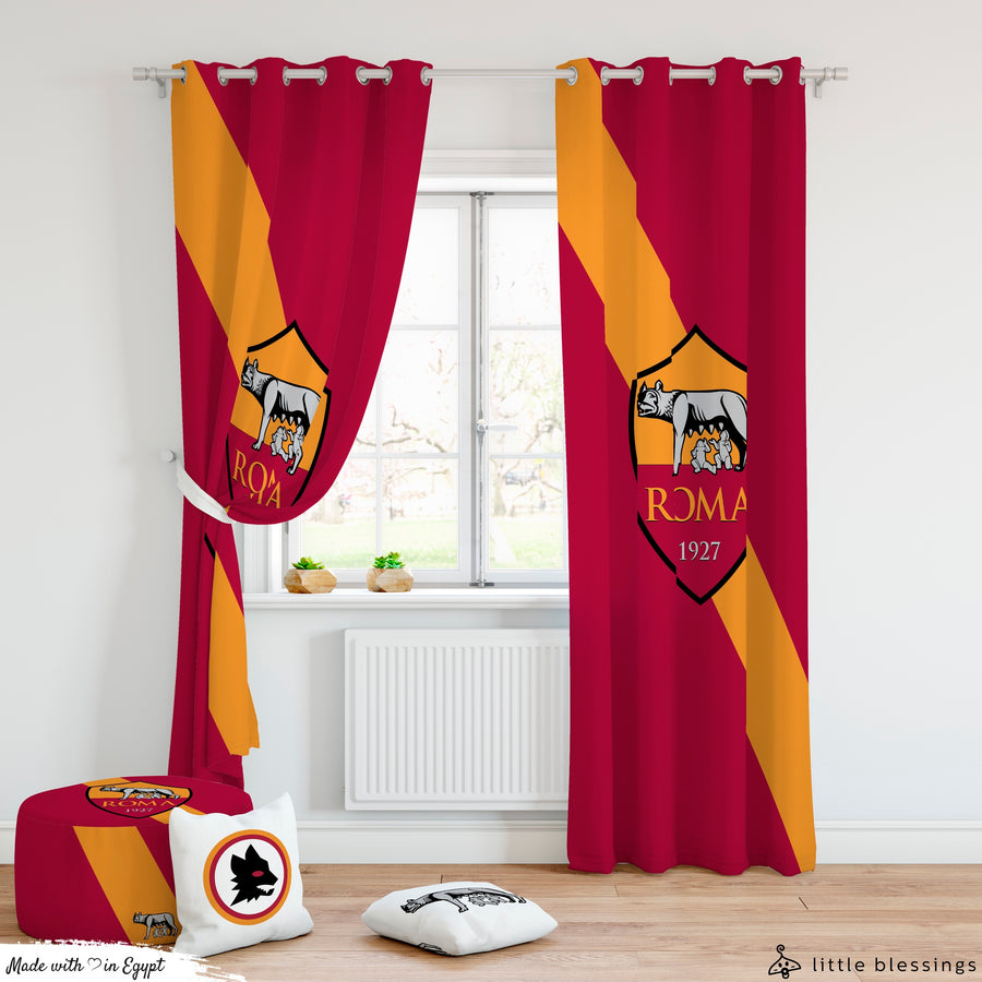 AS Roma Curtain