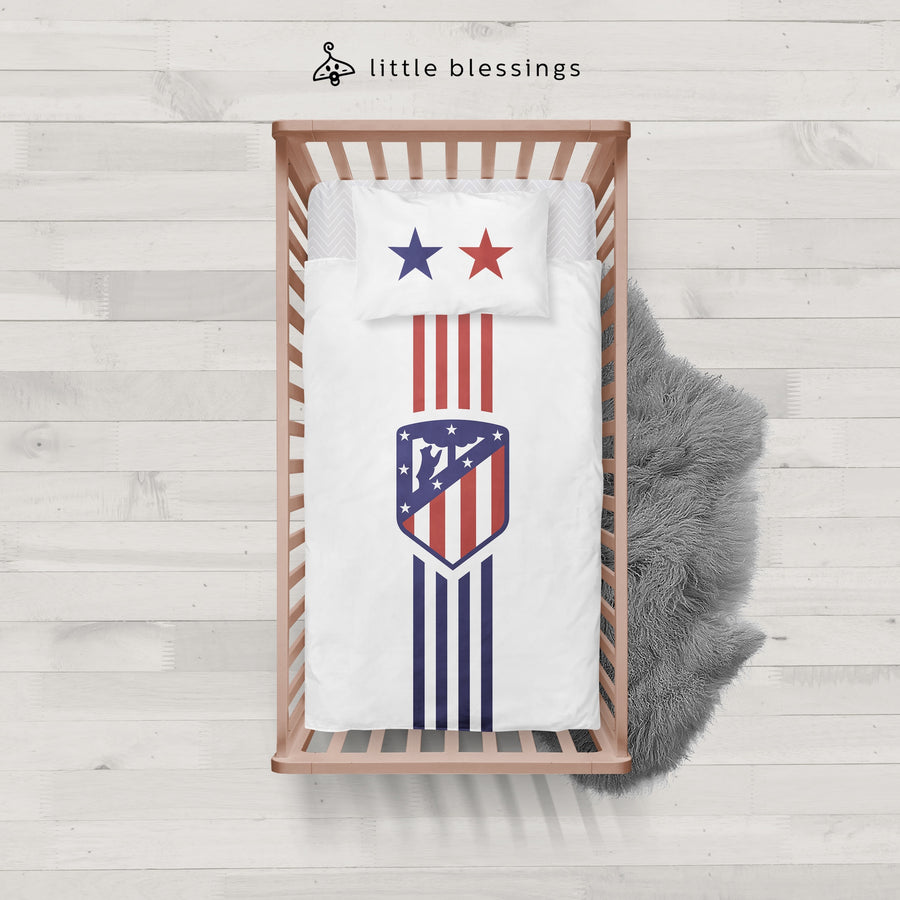 Atletico Madrid Baby Bed Set