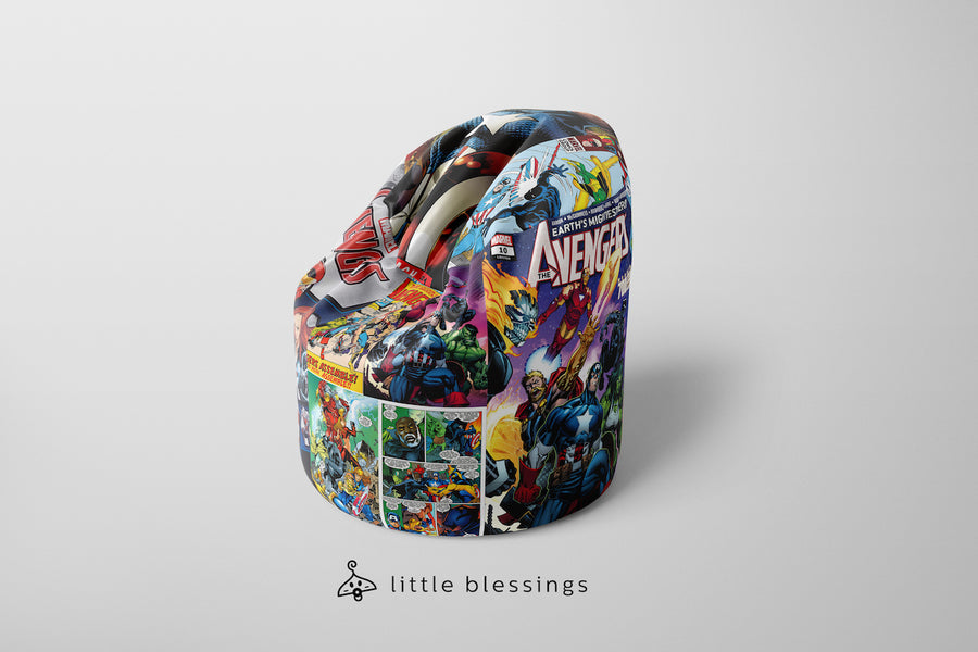 Avengers Comic Bean Bag
