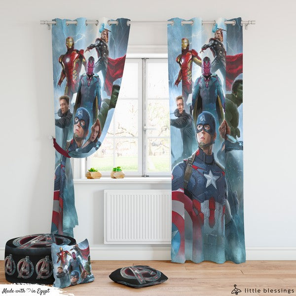 Avengers Room Curtains