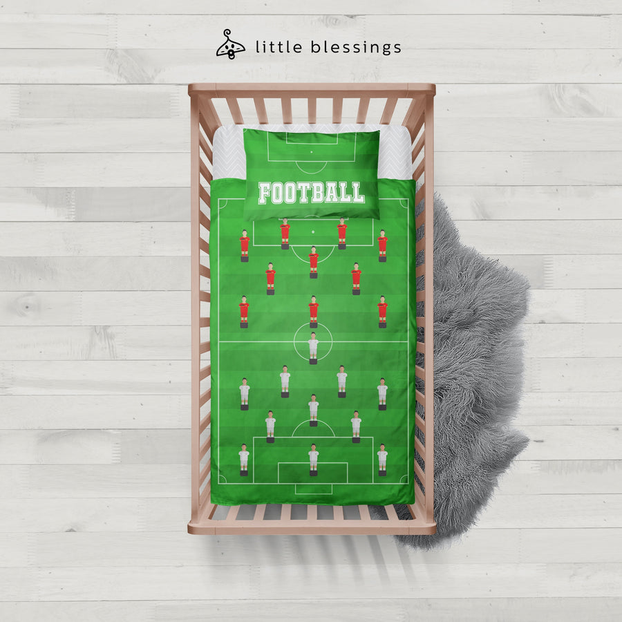 Football Pitch Baby Bed Set