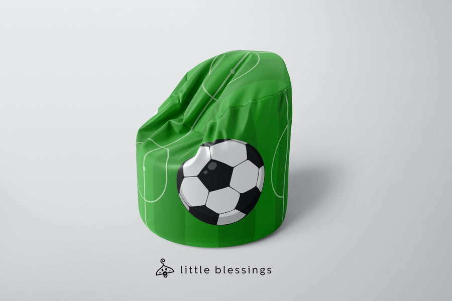 Football Pitch Bean Bag