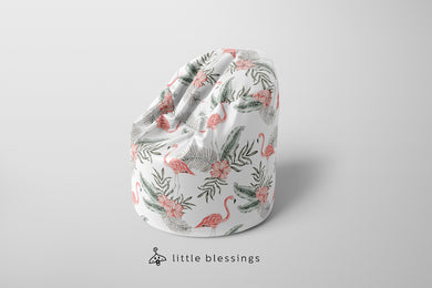 Flamingos Bean Bag