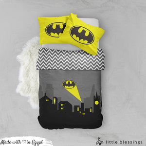 Batman Logo ( Night ) Bed Set