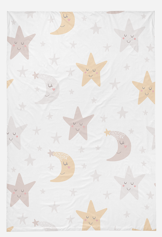 Light Pink Unicorn Bed Set