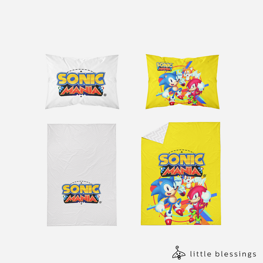 Sonic Mania Bed Set