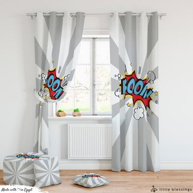 BOOM Room Curtains