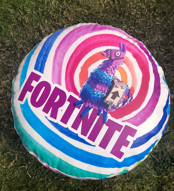 Colorful Fortnite Puff