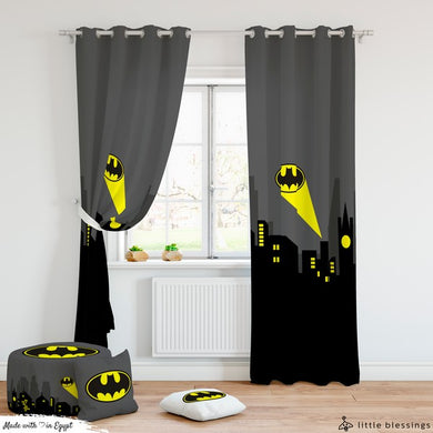 Batman Room Curtains
