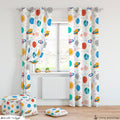 Planets Curtain & Puffs