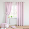 Pink Dots Curtain