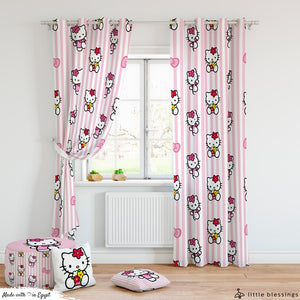 Hello Kitty Room Curtains