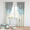Dark Moon and Stars Room Curtains