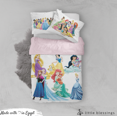 Disney Princesses Bed Set