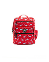 Flamingo Polka Dots Xxl Super-sized Senior Backpack