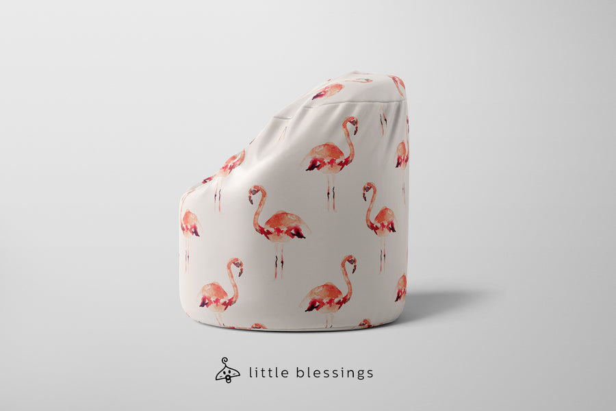 Flamingos 1 Bean Bag