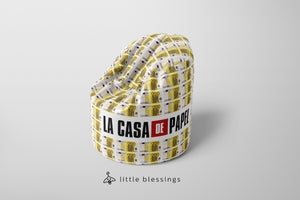 EUROs Bean Bag | La Casa De Papel Bean Bag | LIMITED EDITION