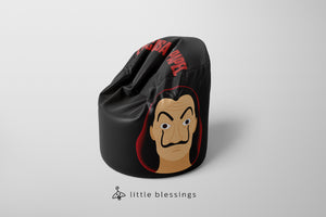 La Casa De Papel Bean Bag | LIMITED EDITION