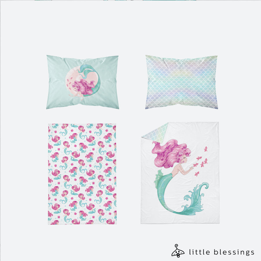 Mermaid Bed Set
