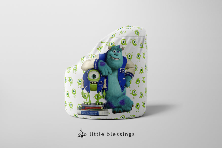Smiling Monsters Inc Bean Bag