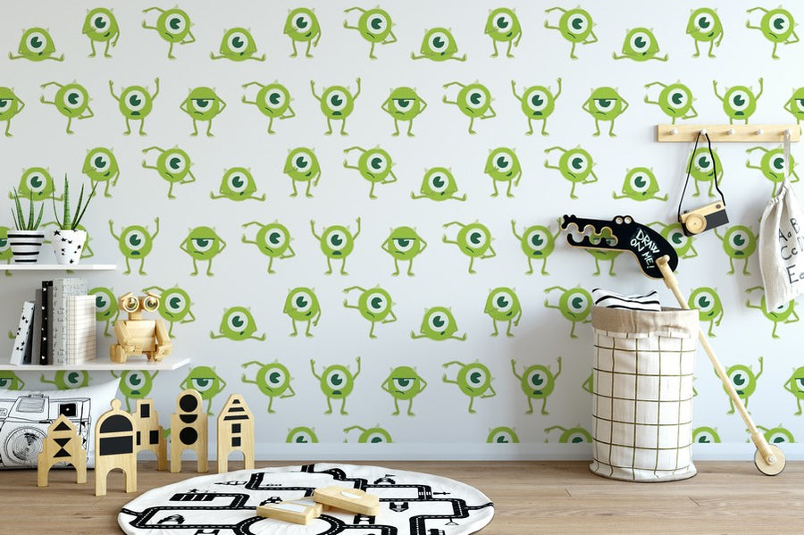Smiling Monsters Inc. Wallpaper