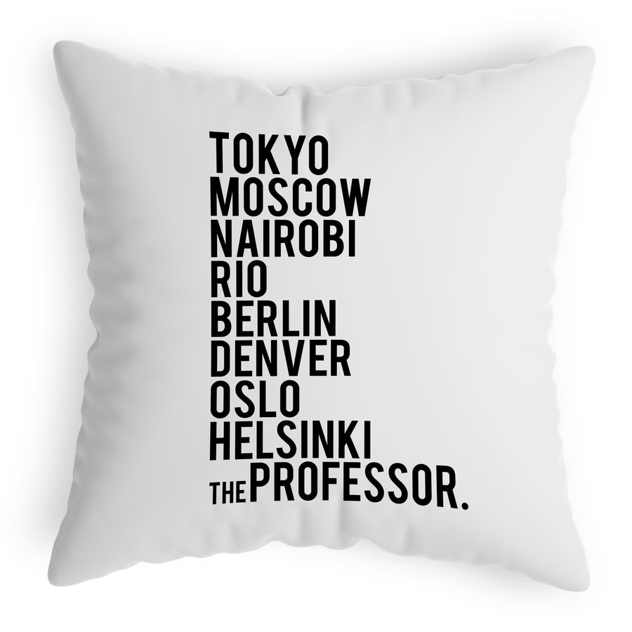 Casa De Papel Crew Cushion