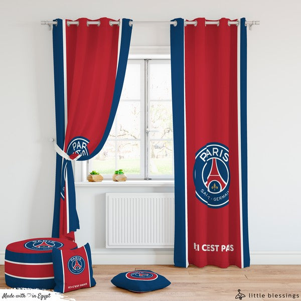 Paris Saint-Germain Room Curtains