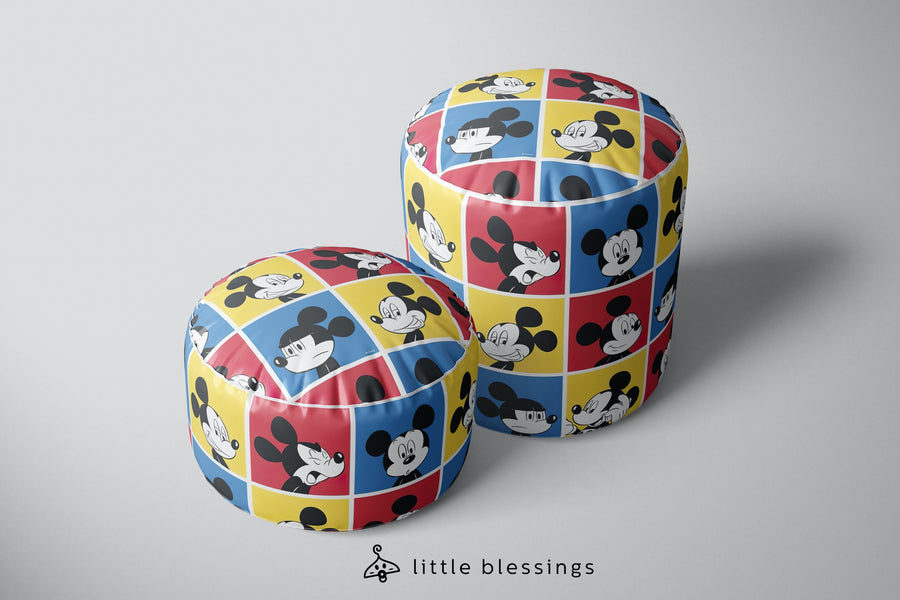 Mickey Pop Art Puffs