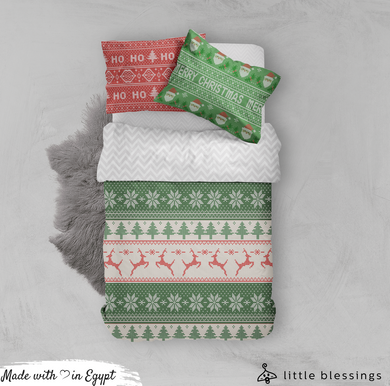 Retro Christmas Bed Set