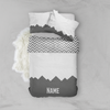 Dark Mountains Bed Set