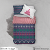 Dark Christmas Knit Bed Set