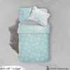 Snowflakes Pattern Bed Set