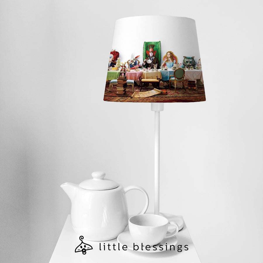 Alice In Wonderland Reloaded Bedside Lamp